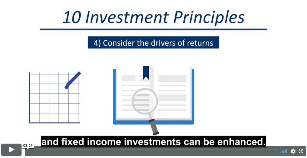 Ten investment principles